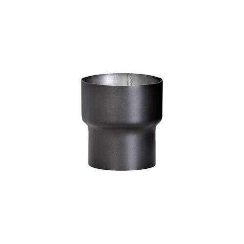 FireFix Rauchrohrerweiterung für Rauchrohre von ø 120 mm auf ø 150 mm, schwarz