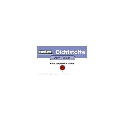 Primaster Hochtemperatur Silikon rot, 300 ml