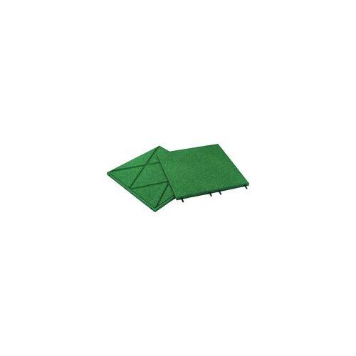 Hamann Mercatus Fallschutzplatten grün, 50 x 50 x 3 cm
