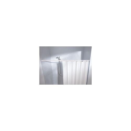 Kleine Wolke Federstange für Duschvorhang 125 - 220 cm / Ø 2,1 cm / weiß