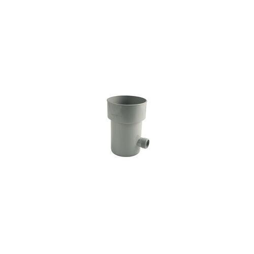 Marley Regensammler NW 105 mm, mit Überlaufstop, grau