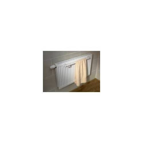 Schulte Handtuchhalter für Kompakt-Heizkörper, 94 cm, weiß
