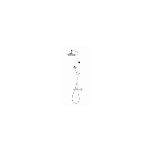 Schulte Duschsystem Rain III rund, chrom, 1104 x 287 x 465 mm