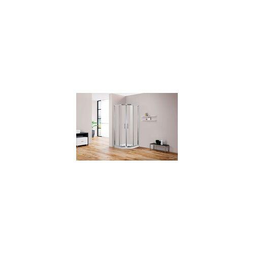 TrendLine Duschkabine Eckeinstieg Easy 6 80 x 80 cm, Klarglas