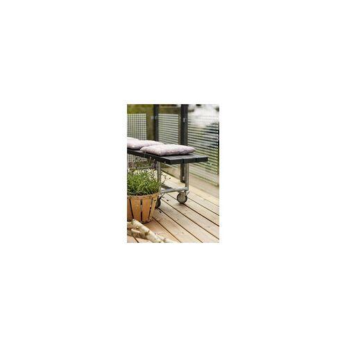 Plus Zaunelement Glas 90 x 127 cm, gehärtetes klares 6 mm Glas