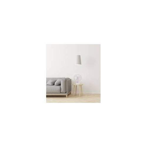 TrendLine Tischventilator 30 cm weiß