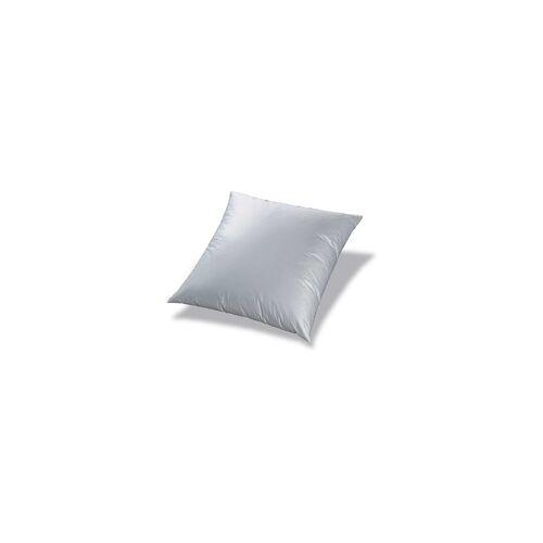Sanders Kopfkissen Cotton Wash weiß, 80 x 80 cm, mit Biese