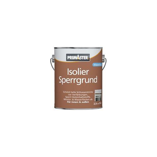 Primaster Isoliersperrgrund 2,5 l, weiß, wasserverdünnbar