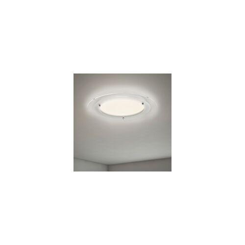 Briloner Ultraflache LED Deckenleuchte Free weiß