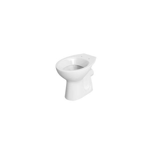 Cersanit Meissen Keramik Stand-Tiefspül-WC Cersanit weiß