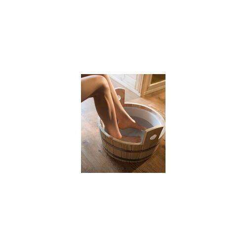 Weka Fußkübel aus Fichtenholz