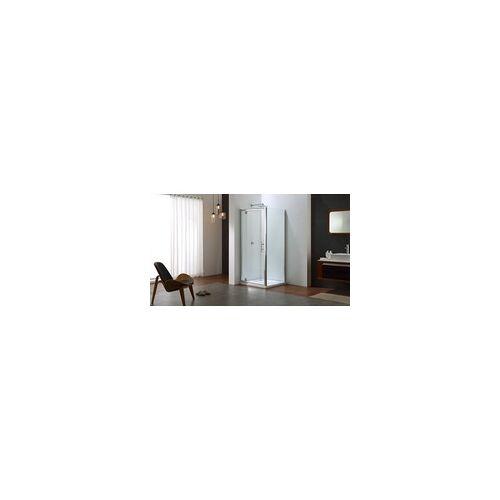 TrendLine Duschkabine Pivot-Tür Easy 6 90 x 90 cm, mit Seitenwand