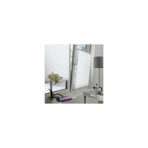 Gardinia Plissee DIE HALBE WABE weiß, 60 x 130 cm