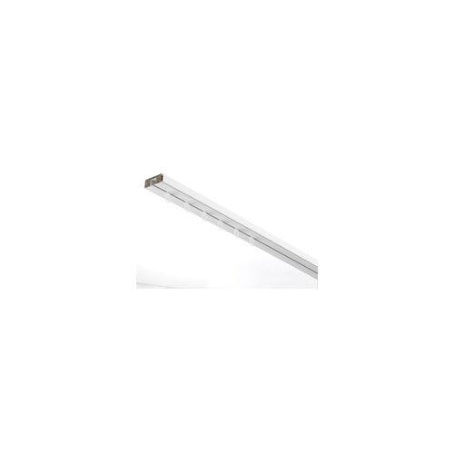Gardinia Vorhangschiene GE 1-läufig, weiss, 300 cm