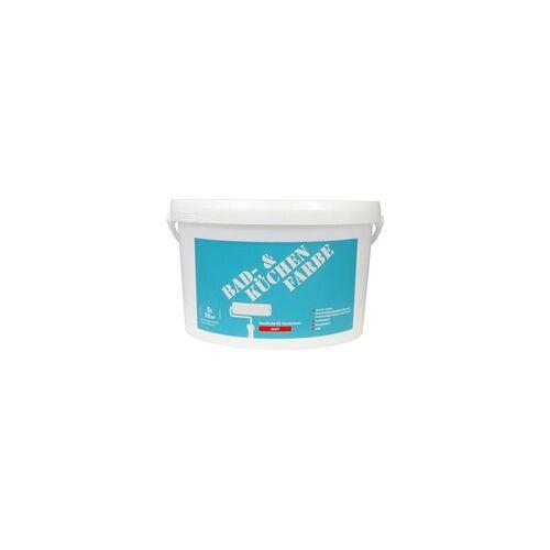 Wilckens Farben Wilckens Wandfarbe für Bad + Küche 5 l, weiß