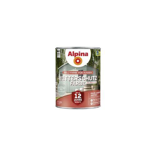 Alpina Wetterschutzfarbe 2,5 l, steingartenblau