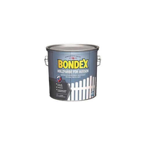 Bondex Holzfarbe für Aussen 2,5 l, weiß