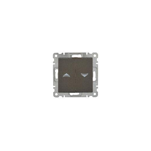uniTEC Elektro Jalousie-Schalter Karea, anthrazit