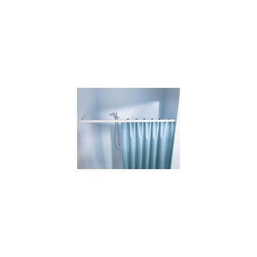 Kleine Wolke Federstange für Duschvorhang 75 - 125 cm / Ø 2,1 cm / weiß