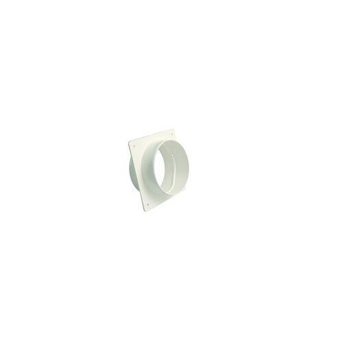 Marley Maueranschlussstutzen 150 x 150 mm Rohranschluss DN 125, weiß