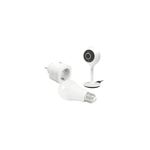 Avidsen Zubehör-Set Smart Home intelligente Glühbirne WLAN RGB, intelligente Wlan-Steckdose, intelli weiß