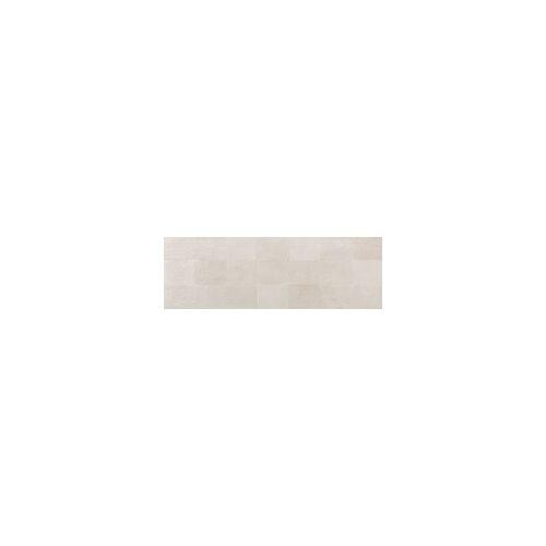 Euro Stone Wandfliese Oyster glasiert matt rektifiziert Dekor Ivory, 33,3x100x0,6 cm, A2