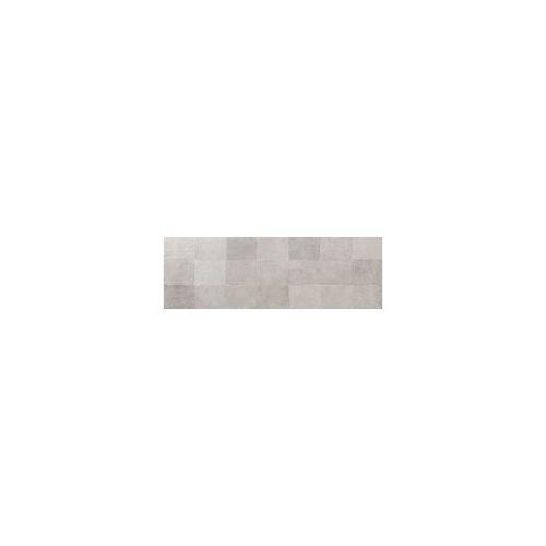 Euro Stone Wandfliese Oyster glasiert matt rektifiziert Dekor Grey, 33,3x100x0,6 cm, A2