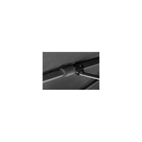 Schneider Schirme Schneider Sonnenschirm Rhodos Twist anthrazit, 300 x 300 cm
