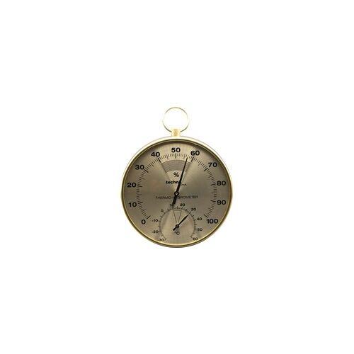 Technoline Thermometer / Hygrometer WA3055 messing