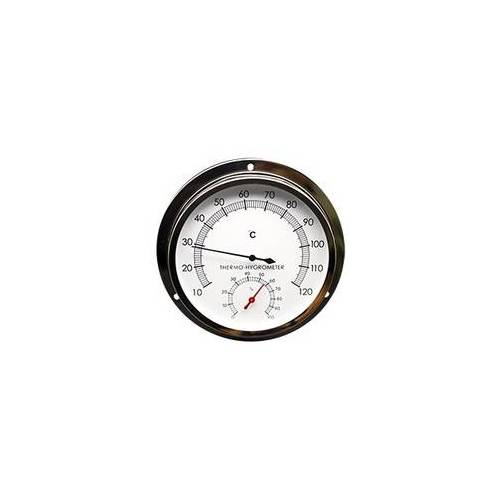 Technoline Sauna Thermometer / Hygrometer WA3060 silber
