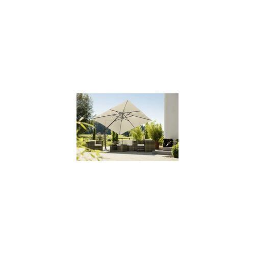 Schneider Schirme Schneider Ampelschirm Rhodos Twist natur, 300 x 300 cm