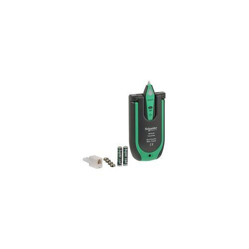 Schneider Electric Multifunktions-Leitungssucher für Stromkabel, Koaxialkabel, Telefonleitung, usw.