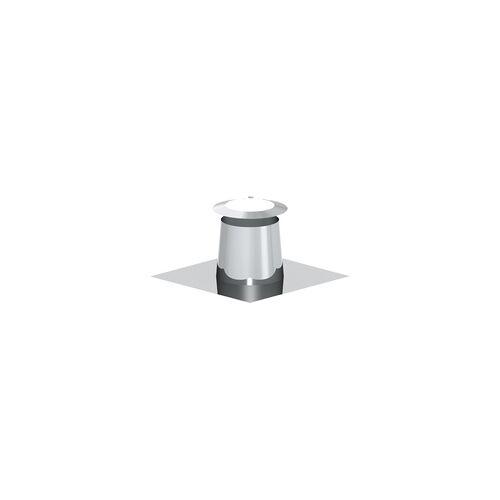 Zitec Schornstein-Flachdachdurchführung Dachneigung 0-5, Ø 150 mm