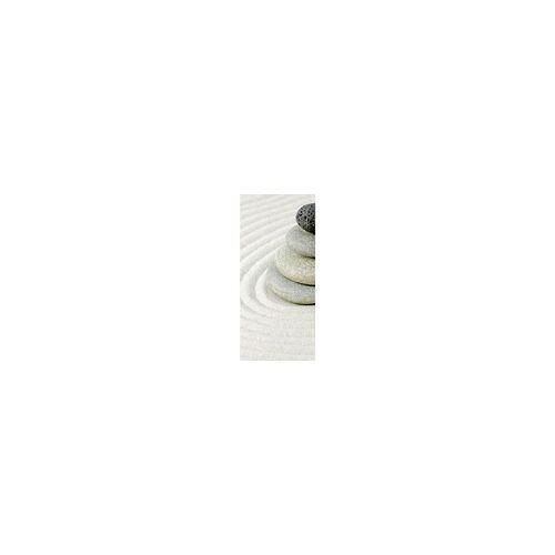 Schulte Duschrückwand Decodesign Zen Steine + Sand, 90 x 210 x 0,3 cm