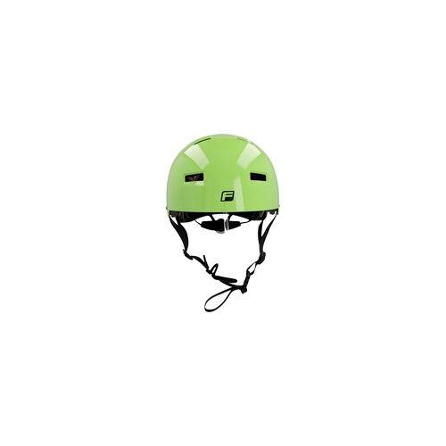 Fischer Fahrradhelm BMX Ride Größe S/M 54-58 cm, grün