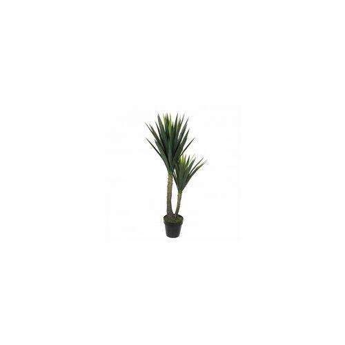 Mica decorations Mica Yucca In Topf grün, 120 x 60 cm