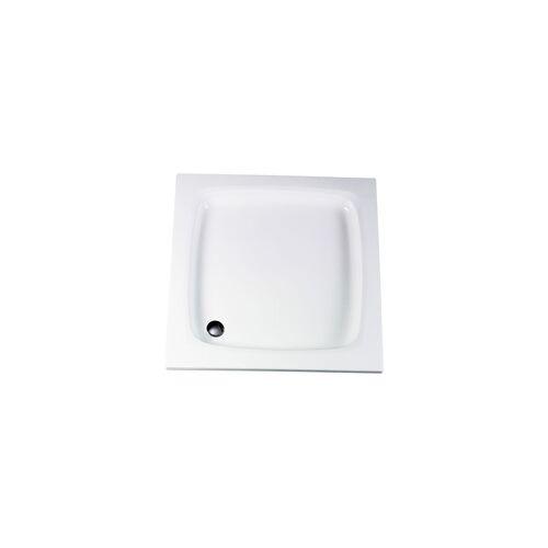 Schulte Acryl-Duschwanne 80 x 80 800 x 800 x 85 mm, alpinweiß