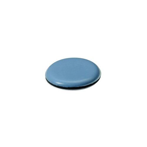 Hettich Selbstklebende Multigleiter grau blau selbstklebend, blau/grau, Ø50 x 6 mm, 4er Pack