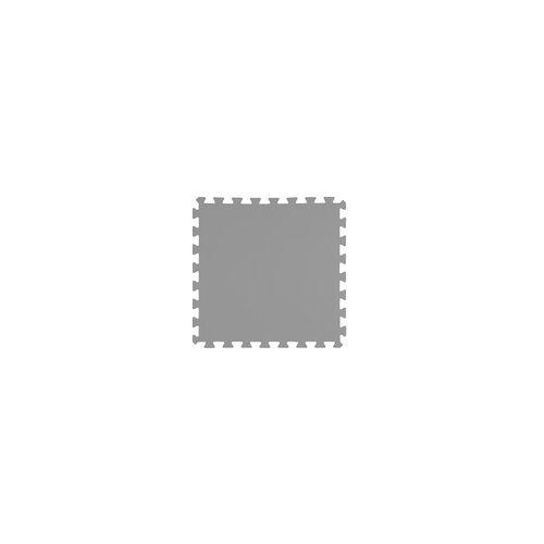 T.I.P. Bodenschutzmatten / Poolbodenmatten SBM 100/9 grau, Set 9 Stück x 50 x 50 cm, 1 cm Mattendicke