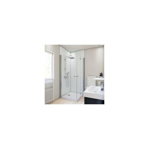 Breuer Duschrückwand Weiss Farbe 90x210x0,3 cm
