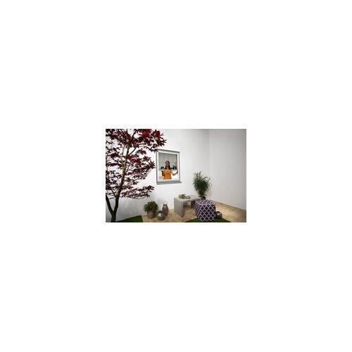 Primaster Insektenschutz-Plissee 130 x 150 cm, weiß