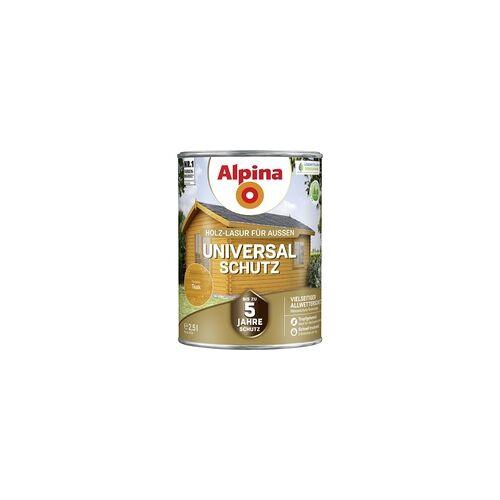 Alpina Holzlasur 2,5L teak Universal-Schutz