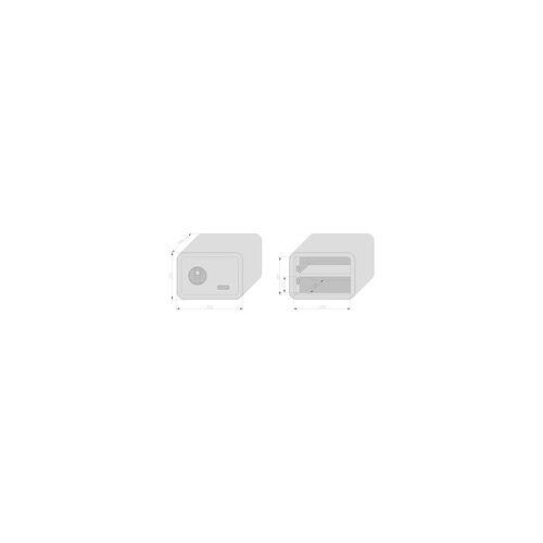 Basi Möbeltresor mySafe 350 pink, mit Fingerprint