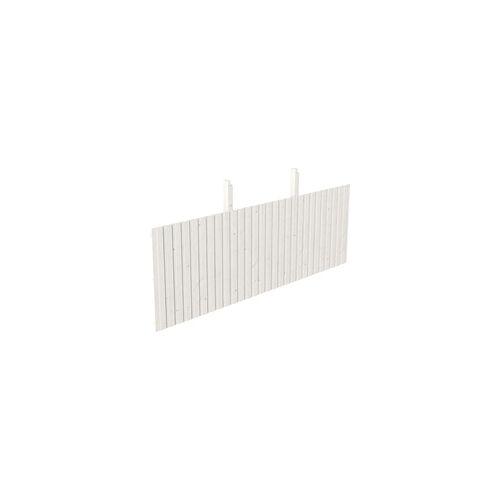 SKANHOLZ SKAN HOLZ Rückwand aus Deckelschalung 550 x 180 cm, weiß