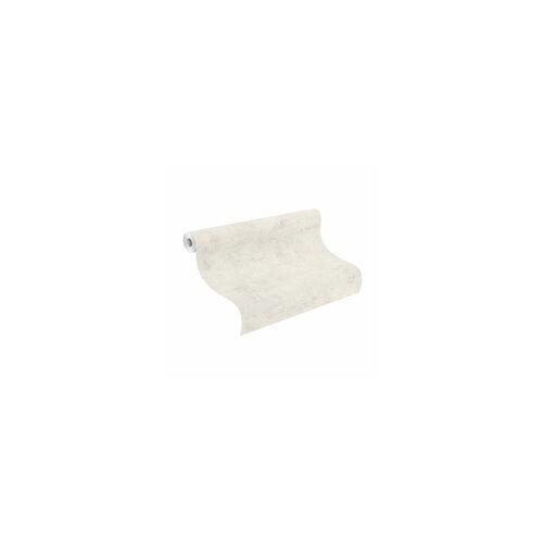 Rasch Vliestapete Betonoptik weiß 10,05 x 0,53 m