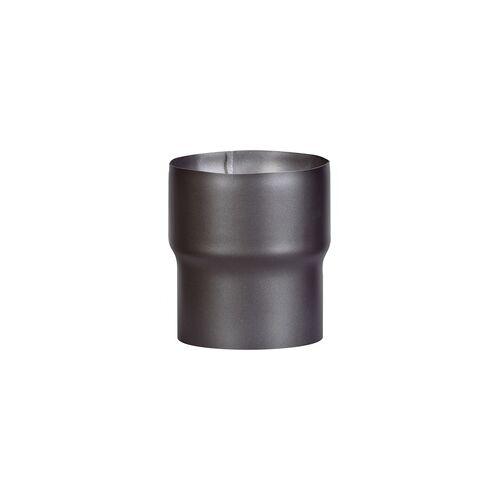 FireFix Rauchrohrerweiterung für Rauchrohre von ø 130 mm auf ø 150 mm, schwarz