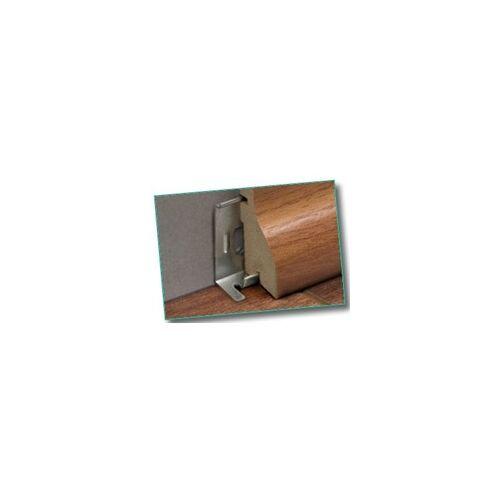 Classen Montageklemmen für FUXX-Leisten für FUXX-Laminat/Parkettleisten 2400 x 40 x 20 mm