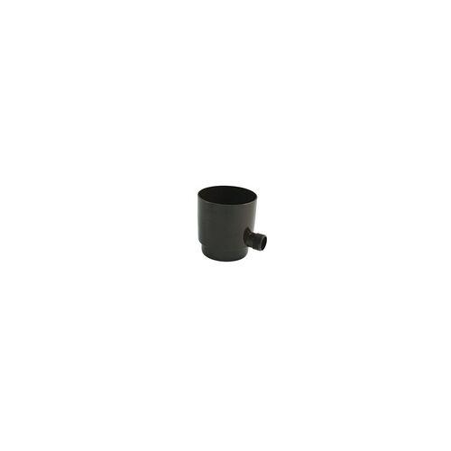 Marley Regensammler NW 105 mm, mit Überlaufstop, braun