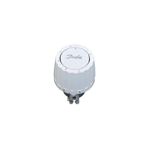 Danfoss Thermostatkopf RAV-L 2950 für RAVL-Gehäuse, Klemmbefestigung 26 mm, weiß