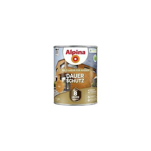 Alpina Dauer-Schutz 2,5 l, teak